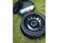 New Unused Spare Wheel and Tyre