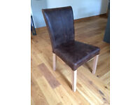 2 dining chairs - John Lewis Calia chairs originally £398