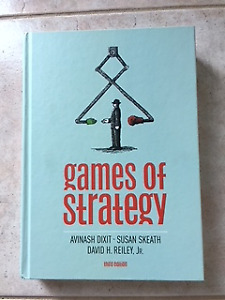 Games of Strategy Hardcover  - third edition