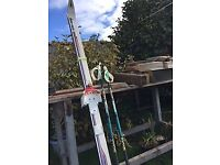Asnes/Telemark skis with swix poles