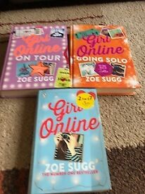For Sale - Bundle of Girl on Line books by Zoe Sugg