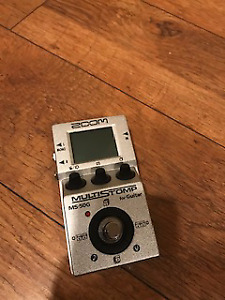 Zoom Multistomp MS50G Guitar Pedal