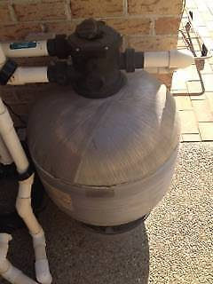 Pool Filter and Chlorinator