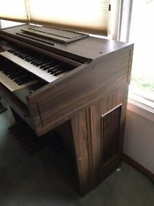 Estate sale - organ and bench