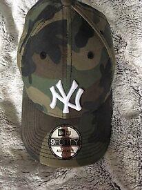 Camo new era baseball cap hardly used