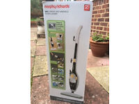 Morphy Richards upright and handheld steam cleaner - nearly new