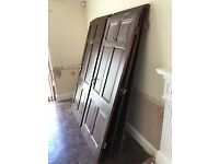 "10 Used Internal Hardwood Doors 2'9"" with handles and hinges"