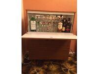 Vintage cocktail cabinet