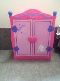 Build-a-Bear pink fashionista wardrobe in good condition