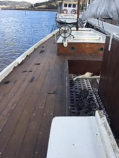 Casilda 1915 Huon Pine Fishing Smack the last original one Kingborough Area Preview