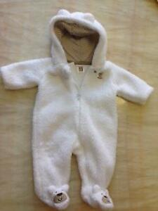 Carter baby winter overall, worn once