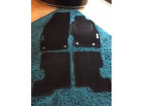 Vauxhall Corsa Limited Edition car mats in immaculate condition. Suitable for 2007-2014 models.