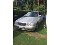 Mercedes E320 CDi Silver Estate - Spares of Repair