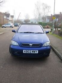 For Sale. 2003 Vauxhall Astra Convertible
