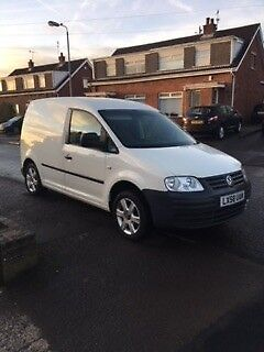 VW Caddy 19tdi 104ps 2008 Alloys A C Carpeted Insulated NO VAT