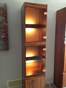 Display cabinet with glass doors and lighted interior Gatineau Ottawa / Gatineau Area image 5