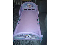 Toddler frozen bed