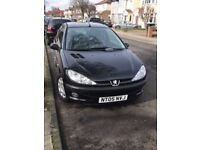 2005 Peugeot 206 low road tax and insurance, comes with 1 Year MOT