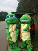 Have the Ninja Turtles come to your child's party!