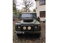 Ex Military land rover 110.[89000 miles] [144000 klm] great runner solid body fantastic buy a must