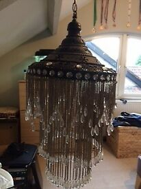Large ceiling statement lamp