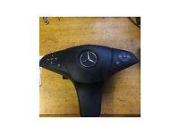 mercedes c class w204 amg steering wheel air bag