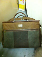 Genuine Leather & Suede travelling luggage