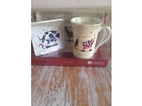 Alex Clark Designer Cup,Coaster and Tray gift set