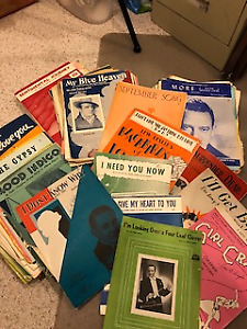 Sheet Music from the 30's, 40's & 50's