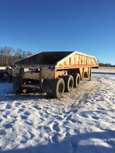 Heavy Equipment Trailer