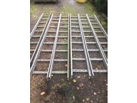 Galvanised Tracking For Cable Fitting