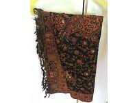 Indian shawl wrap