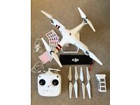 DJI Phantom 3 Standard Drone like new in box with hard case backpack
