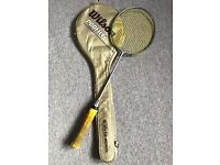 Wilson Pro Badminton Racquet with case.