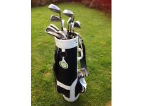 Ladies Golf Clubs and Bag, including golf balls