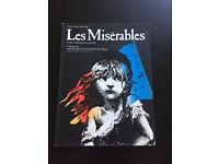 Les Miserables - Vocal Score book