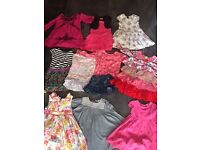x12 Bundle of Girls Clothes & Winter Coat Aged 2-4 Years Old - £13 the Lot see photos