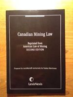 Canadian Mining Law (10$)