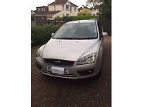 FORD FOCUS HATCHBACK 1.8 PETROL SILVER WITH GREY /BLUE INTERIOR