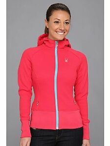 Spyder Women's Ardent Full-Zip Hoodie Sweatshirt - Size Small