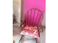 Wooden children's rocking chair - 2 available