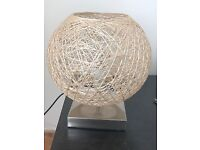 A set of Touch table lamps with Bird nest shades - Excellent condition