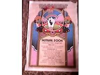 ISLE OF WIGHT FESTIVAL 2004 ORIGINAL LINE UP POSTER