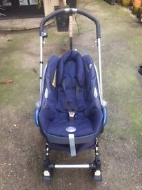 Bugaboo Pram and Stroller + Extras