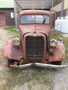 WANT GONE ; 1937 Ford 5 Window Pick Up