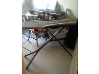 Ironing board not seen much action for sale
