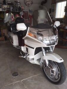 1996 Honda Gold Wing 1500 with trailer