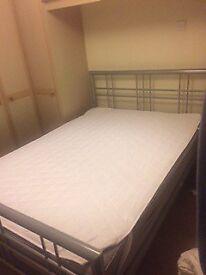 Double Bedframe & Mattress