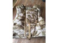 British army desert body armour DPN