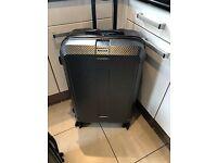 New Ex Display Samsonite Carbon Elite 2pce Hard Shell Spinner Luggage Set